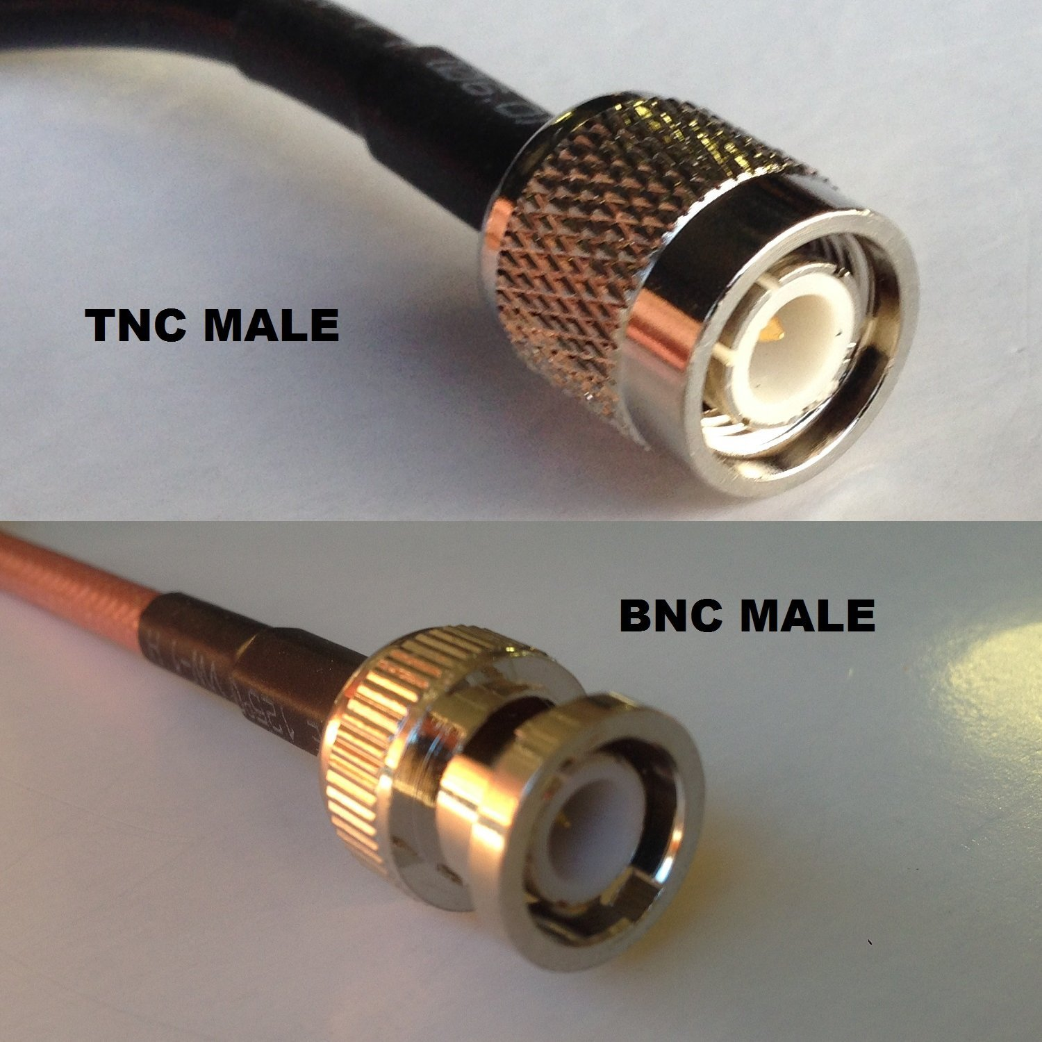 6 feet RG58 N FEMALE to QMA MALE ANGLE Pigtail Jumper RF coaxial cable 50ohm Quick USA Shipping