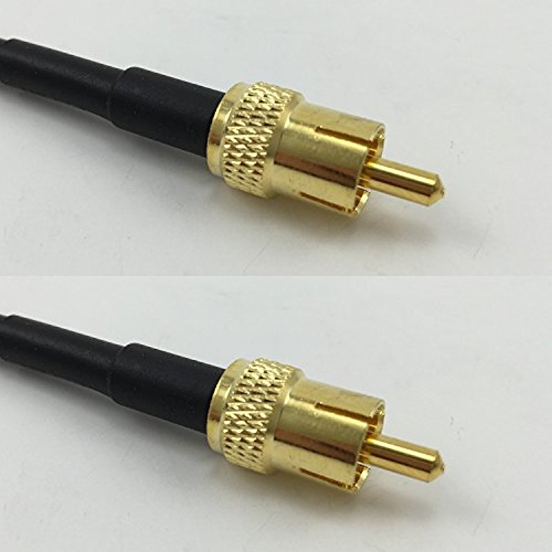 3 feet RG58 PL259 UHF Male to Mini UHF Male Pigtail Jumper RF coaxial Cable 50ohm Quick USA Shipping