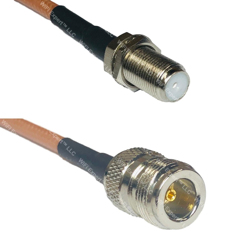 RG316 SMA FEMALE to SO239 UHF Female Coaxial RF Cable USA-US