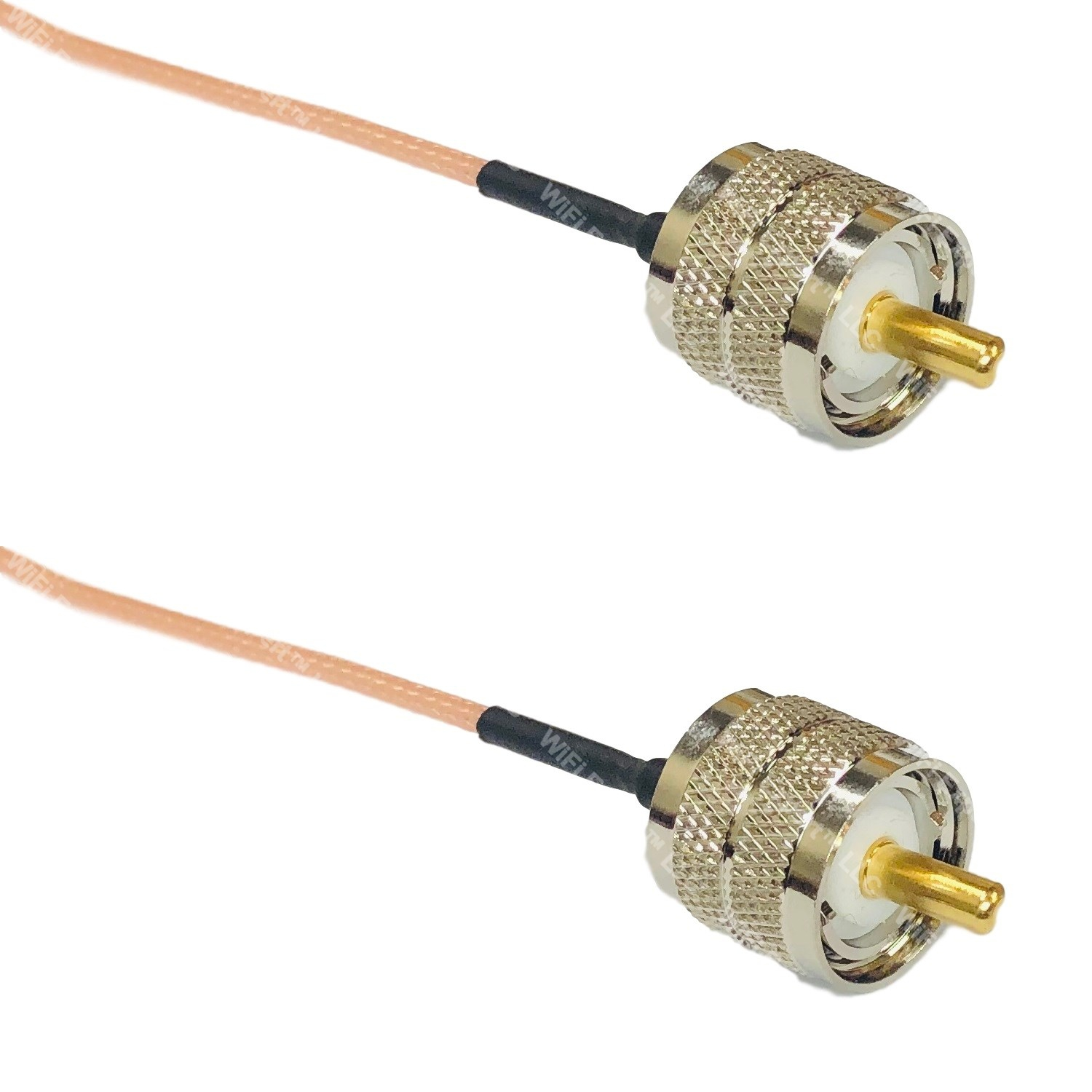 USA-CA LMR195 PL259 UHF MALE to BNC MALE Coaxial RF Pigtail Cable