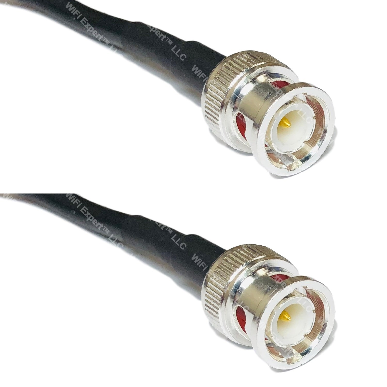 LMR240UF Silver N MALE to BNC MALE Coax RF Cable USA Lot